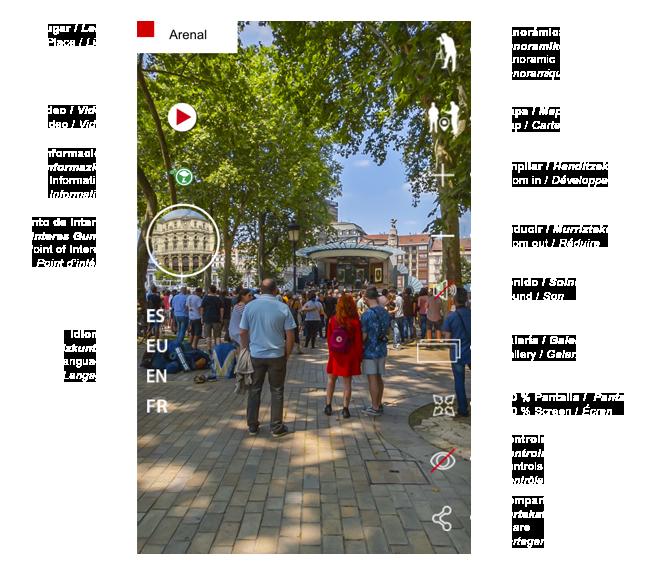 Visita virtual Bilbao para ordenador