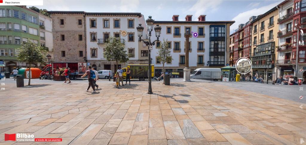 Museo Vasco desde la Plaza Unamuno