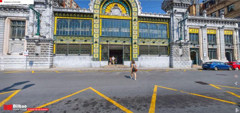 Estación La Concordia, estética Belle Epoque y funcionalidad actual